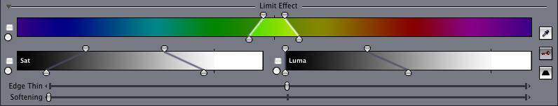 Limit controls