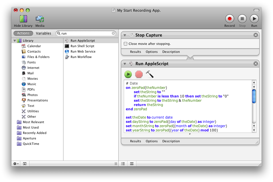 Final Consolidated Automator Routine