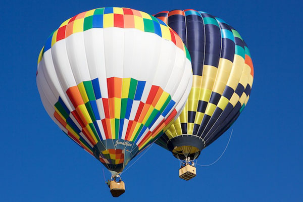 Subject Image (Hot Air Balloons)