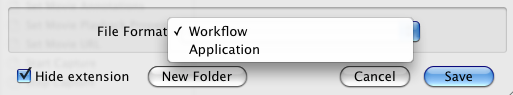 Workflow vs. Application